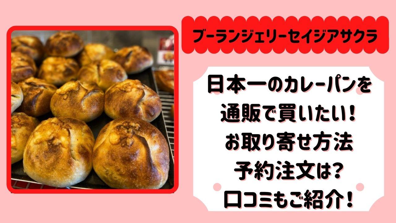 朝倉誠二 カレーパン 日本一 通販 購入 口コミ
